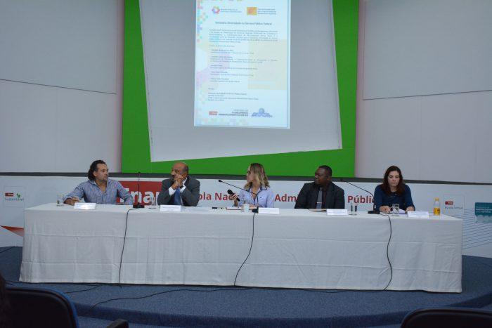 Diversidade no servico publico federal e tema de seminario realizado na enap.