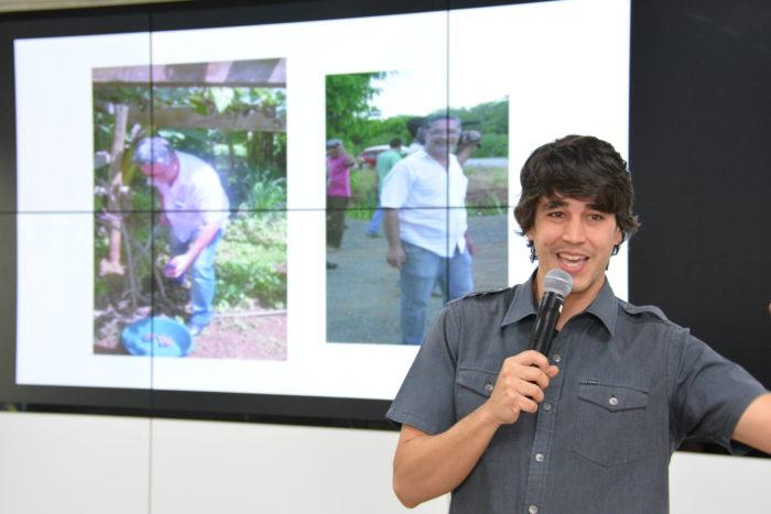 Foto de Marcos - Me viro - no GNPapo Inovações em Tecnologias Assistivas - semana de inclusão